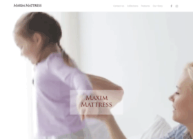 maximmattress.com