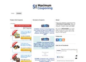 maximumcouponing.com