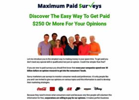 maximumpaidsurveys.com