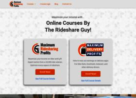 maximumridesharingprofits.com