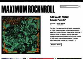 maximumrocknroll.com