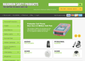 maximumsafetyproducts.com