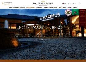 maximus-resort.cz