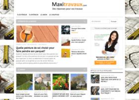 maxitravaux.com