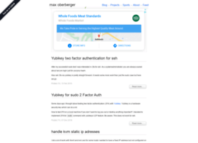 maxoberberger.net