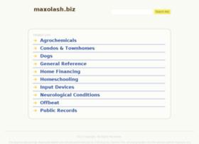 maxolash.biz
