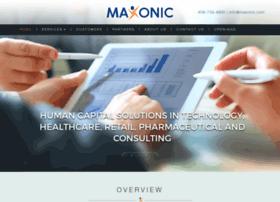 maxonic.com