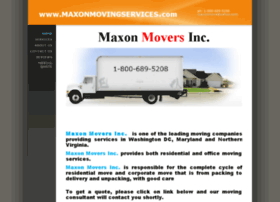 maxonmovingservices.com