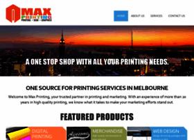 maxprinting.com.au