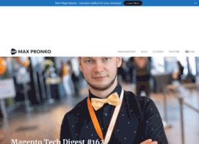 maxpronko.com