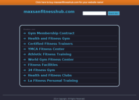 maxsanfitnesshub.com