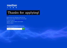 maxthonlabs.launchrock.com