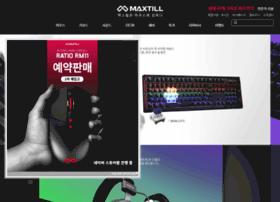 maxtill.co.kr