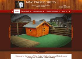 maxtimbersheds.webs.com