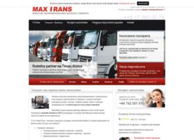maxtrans.com.pl
