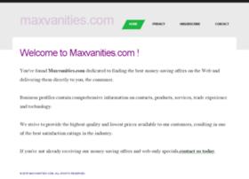 maxvanities.com
