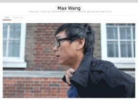 maxwang.org