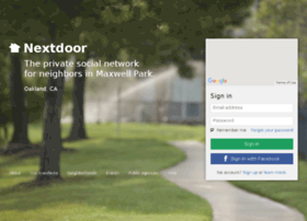 maxwellpark.nextdoor.com