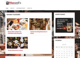 maxwellsrestaurant.ie