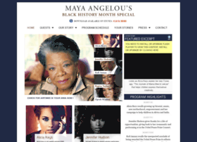 mayaangelouonpublicradio.com