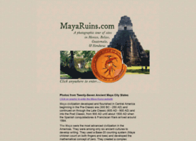 mayaruins.com