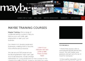 maybetraining.co.uk