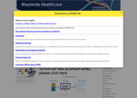 maylandshealthcare.co.uk