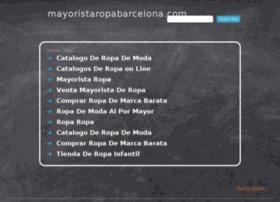 mayoristaropabarcelona.com