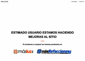 mayoristas.masluz.mx