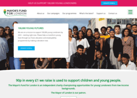 mayorsfundforlondon.org.uk