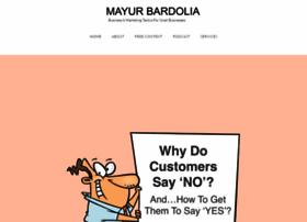 mayurbardolia.com
