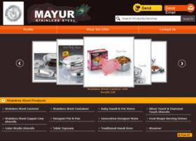 mayurkitchenware.com