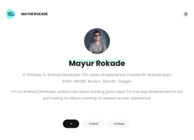 mayurrokade.com