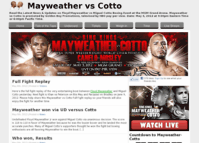 mayweather-vs-cotto.com