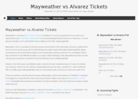 mayweathervsalvareztickets.com