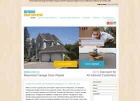 maywoodcagaragedoorrepair.com
