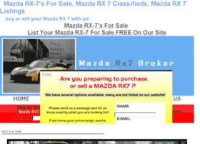 mazdarx7broker.com