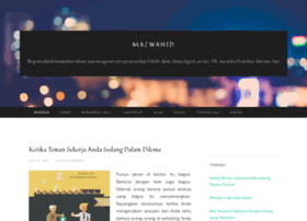 mazwahid.wordpress.com