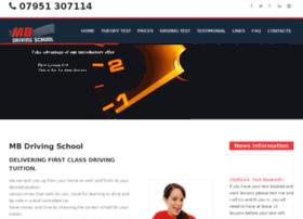 mb-drivingschool.co.uk