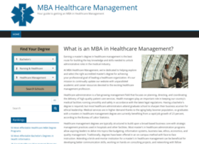 mba-healthcare-management.com