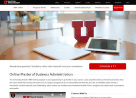 mbaonline.business.utah.edu