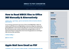 mboxtopdf.wordpress.com