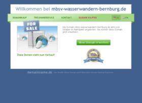 mbsv-wasserwandern-bernburg.de