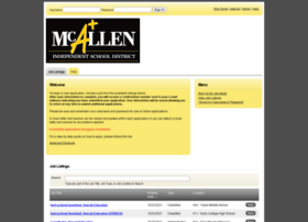 mcallenisd.schoolrecruiter.net