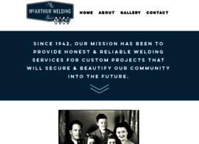 mcarthurwelding.com
