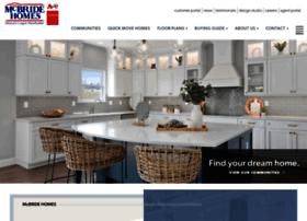 mcbridehomes.com