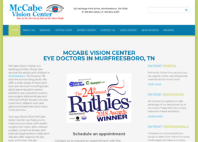 mccabevisioncenter.com