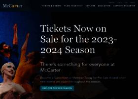 mccarter.org