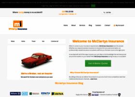 mcclartysinsurance.co.uk