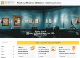 Mcclungmuseum.utk.edu